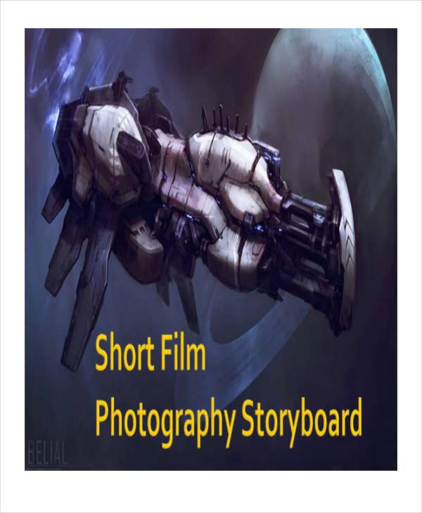 photography storyboard sample