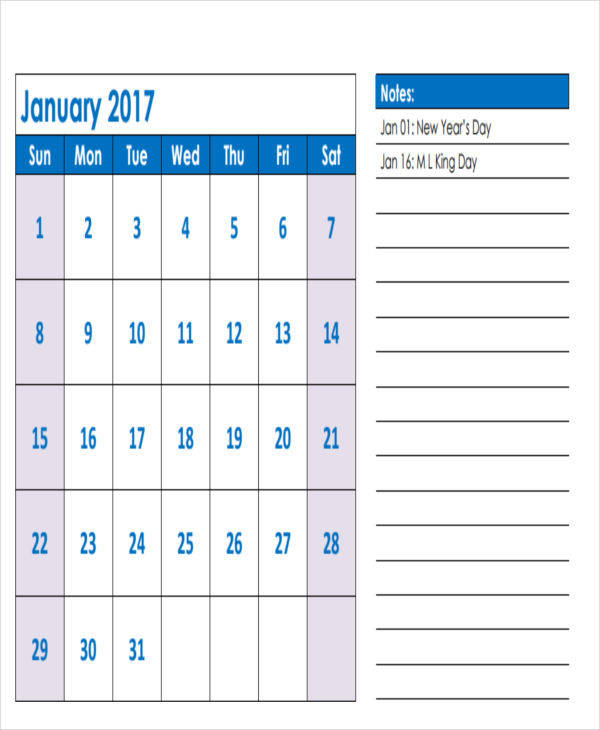 5+ Appointment Calendar Templates - Examples in Word, PDF