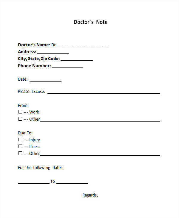 25+ Doctor Notes In Pdf