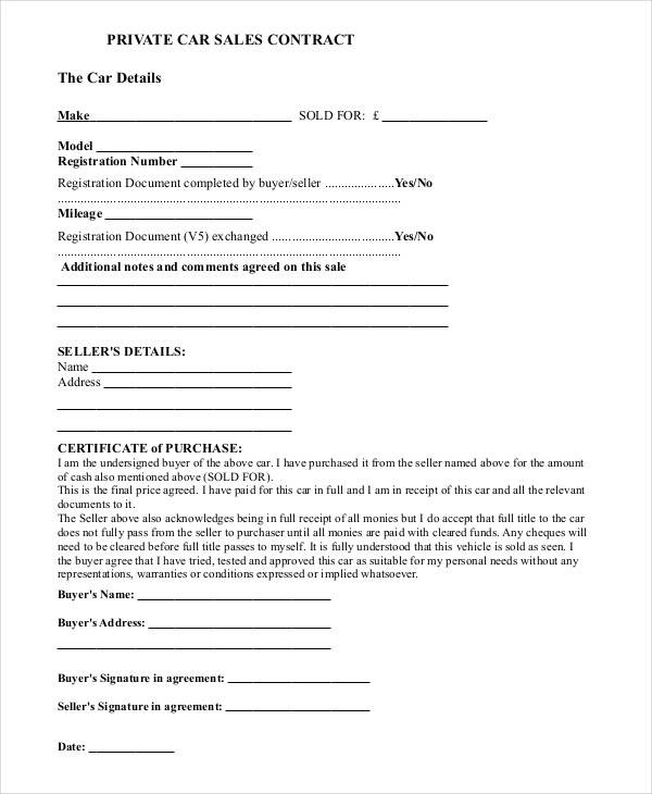 Car Payment Agreement Template 2011 Requirements For Horizon Car