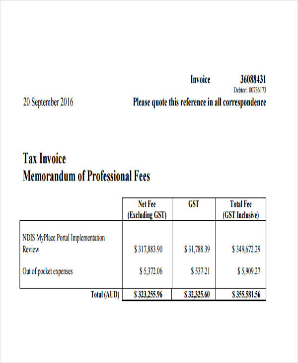 15  professional invoice templates
