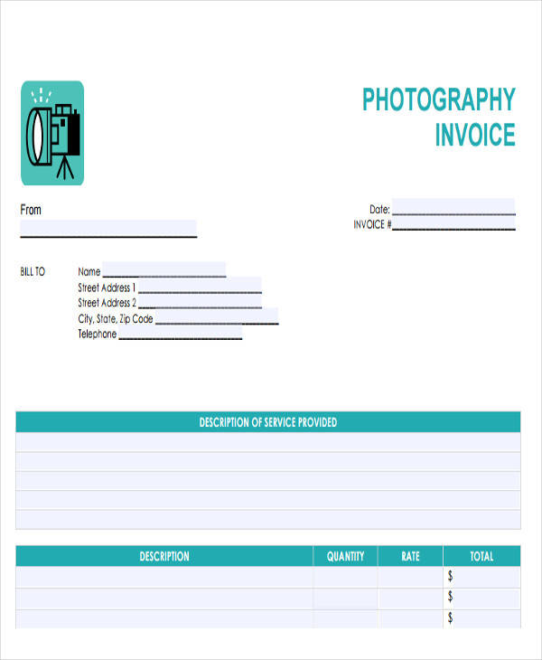 Professional Invoice Templates  Free Sample Example Format