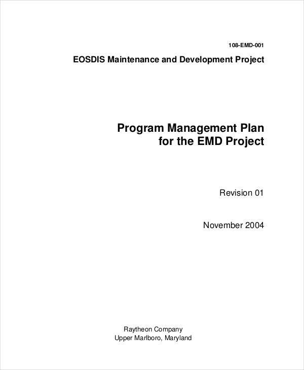 program management plan4