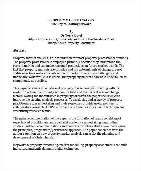 property market