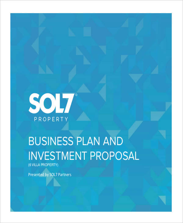 proposal for business investment
