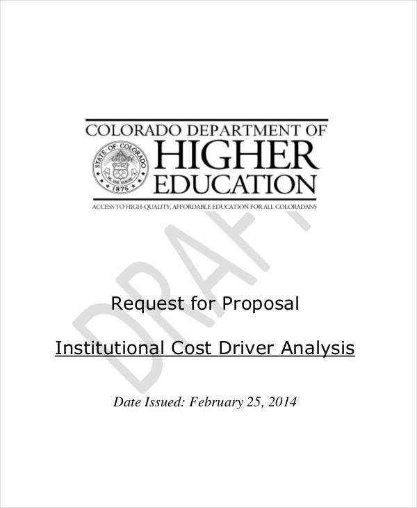 proposal for cost analysis1