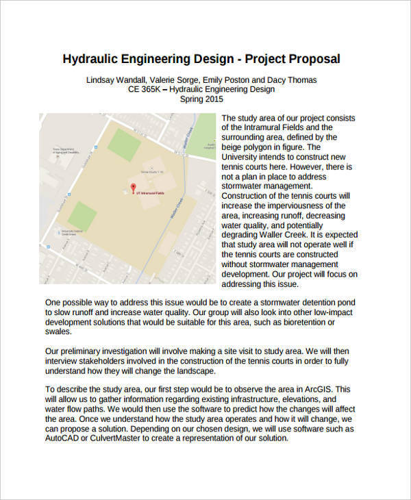 proposal for engineering project