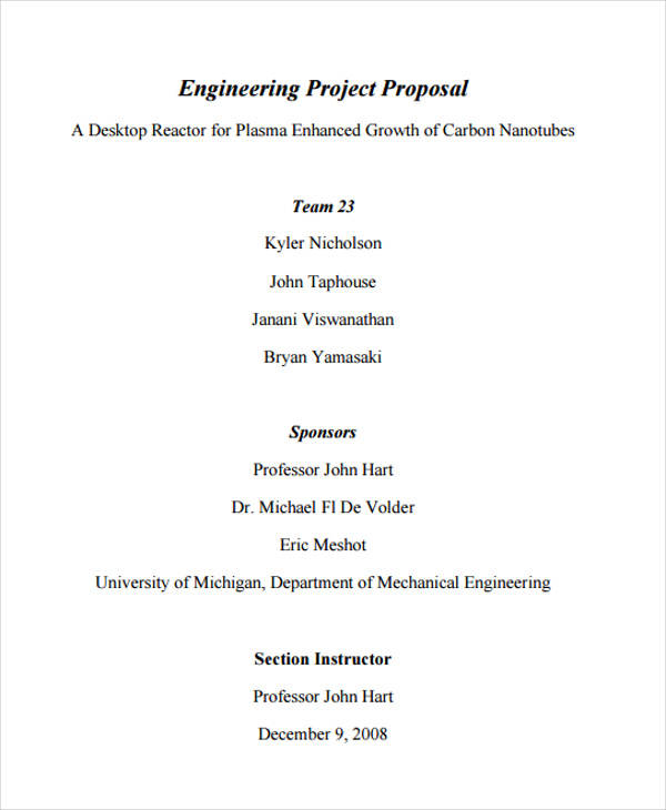 proposal for engineering project2