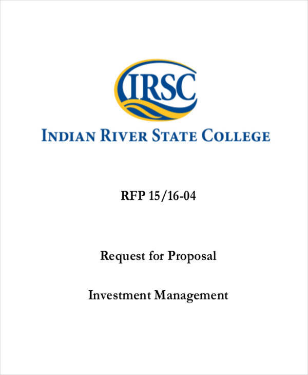 proposal for investment management