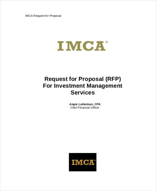proposal for investment management1
