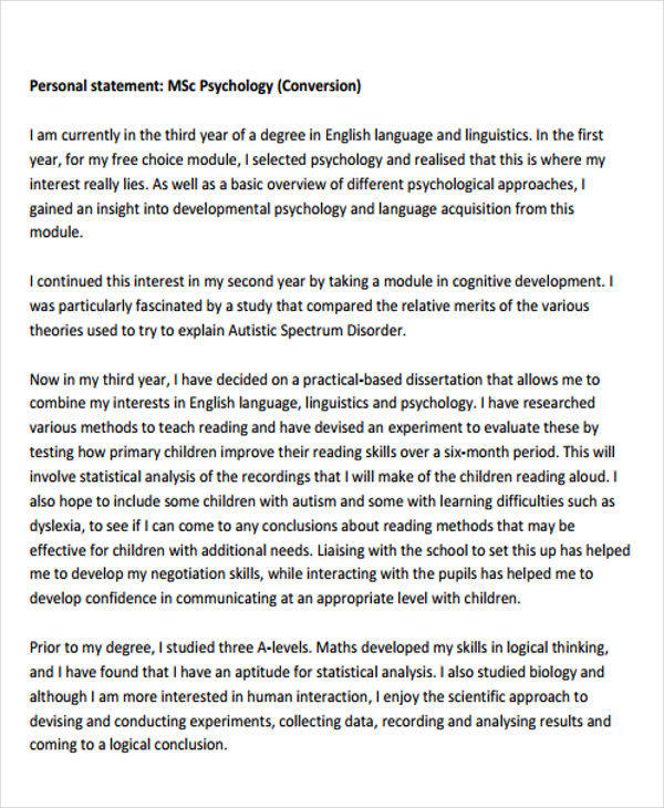 Writing the Personal Statement   OT   Pinterest   College  School