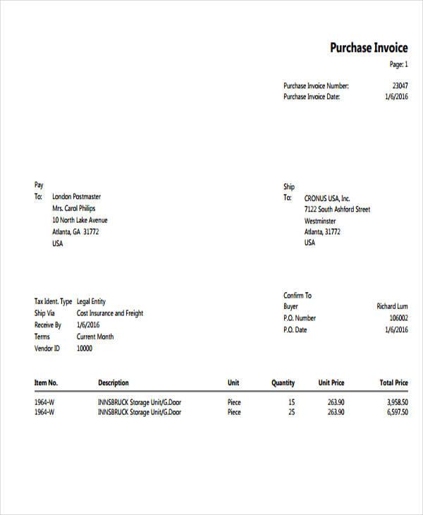 purchase invoice1