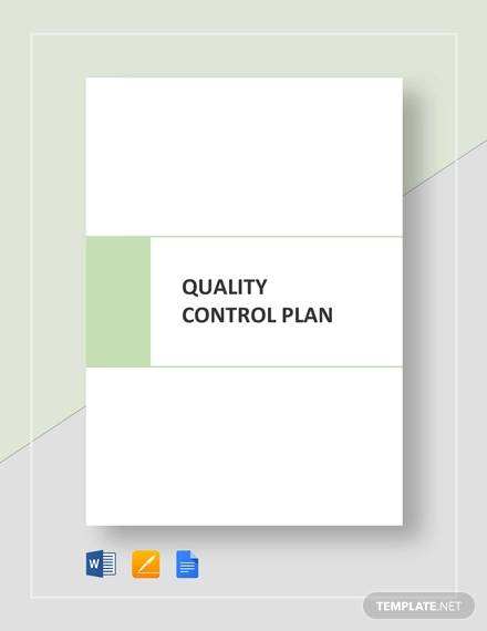 quality control plan template2