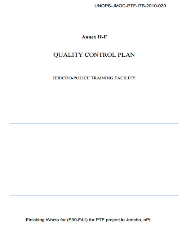9 Control Plan Templates - Examples In Word, Pdf