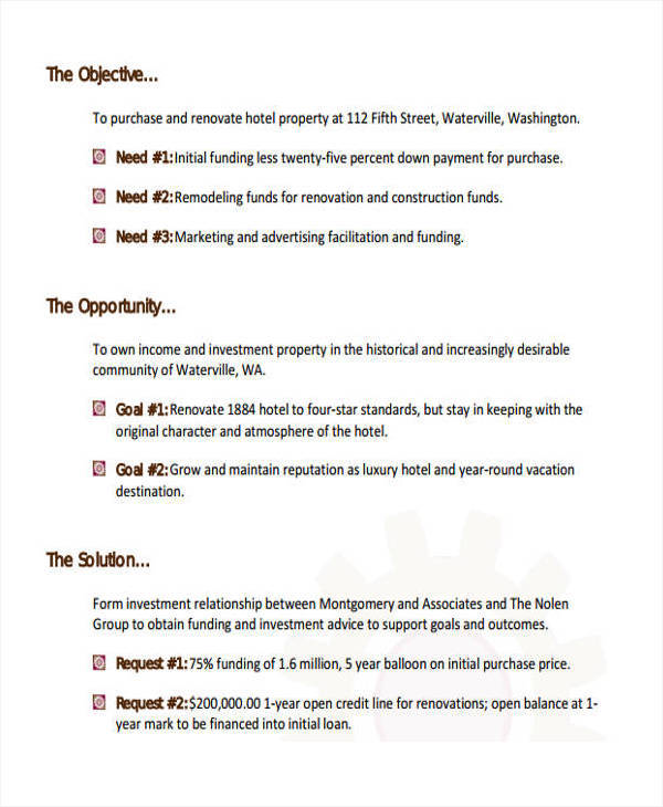 real estate investment business proposal1