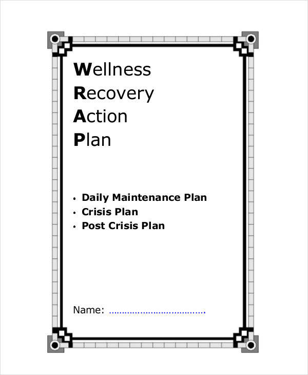 5 recovery plan examples samples sample templates for Recovery action plan template