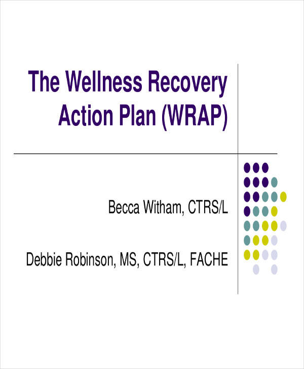 41 plan samples templates sample templates for Recovery action plan template