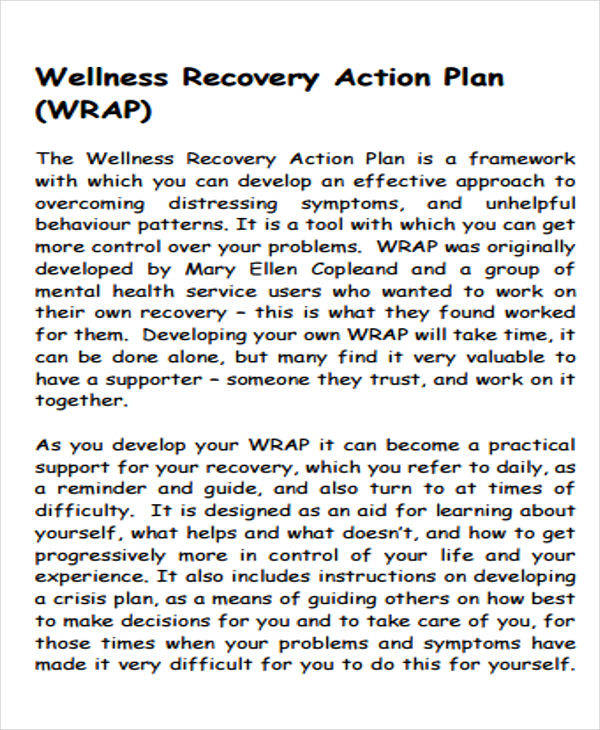 recovery action plan3