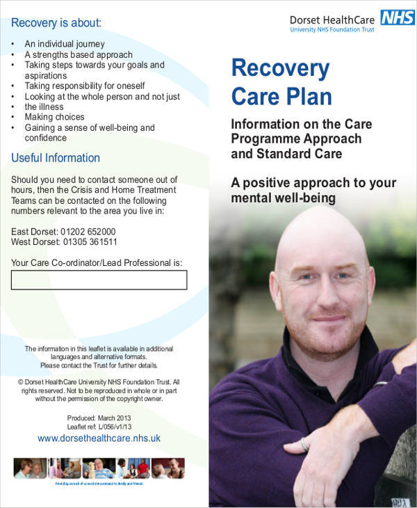 recovery care plan