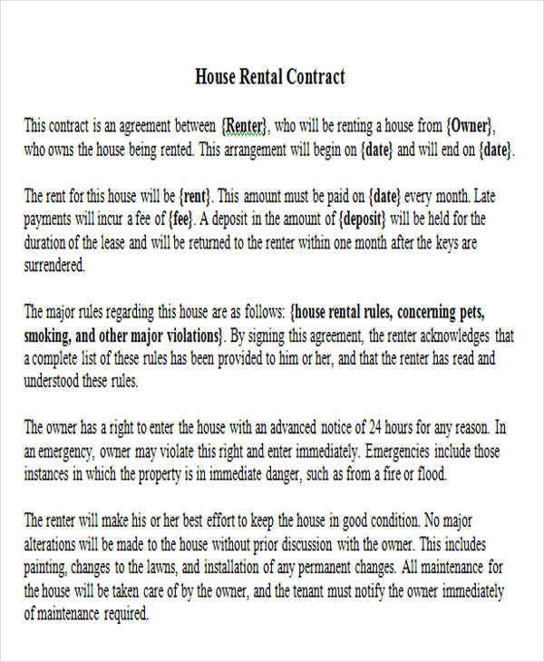 rental property contract1