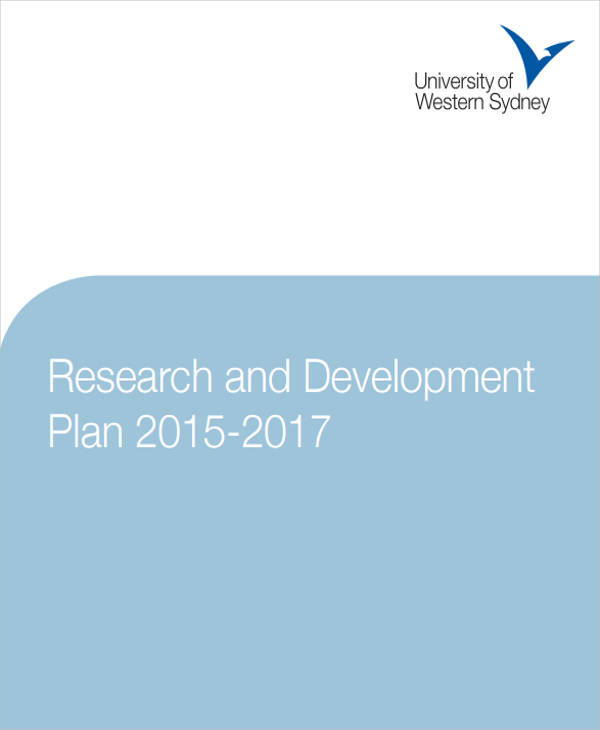 6 research plan samples templates sample templates for Research and development plan template