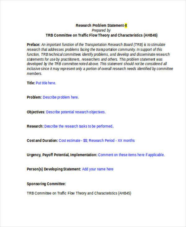 research problem statement2