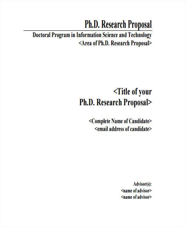 research work template
