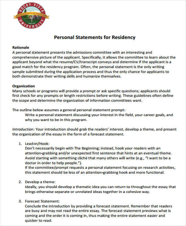 residency personal statement1
