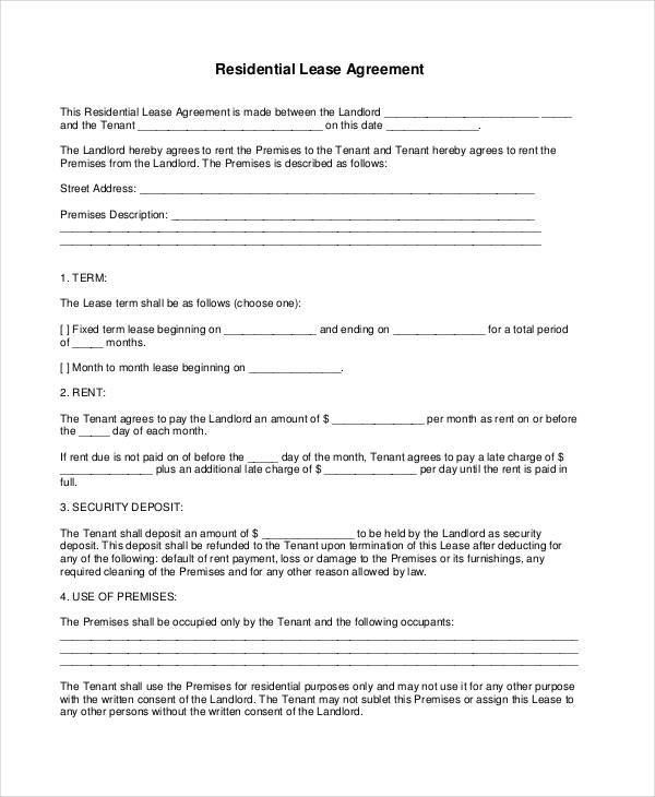 residential lease contract1