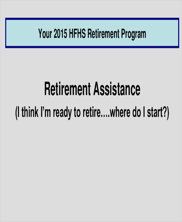 Retirement Program