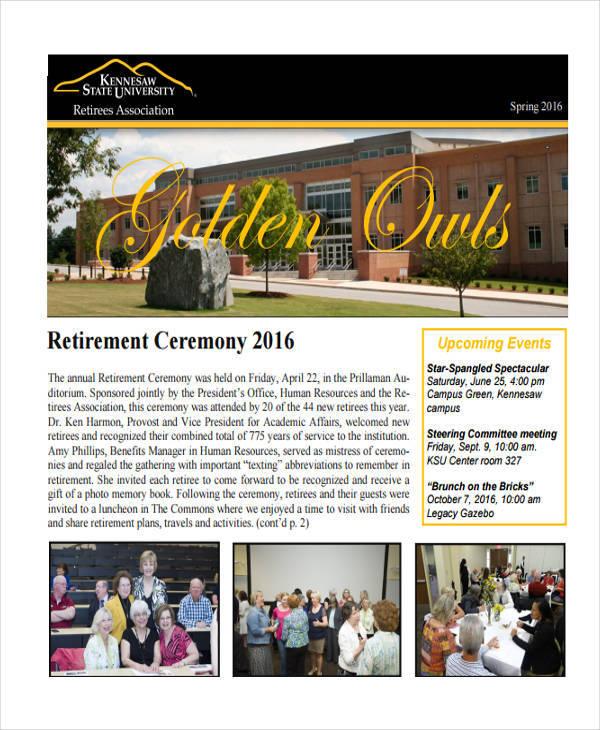 retirement ceremony program1