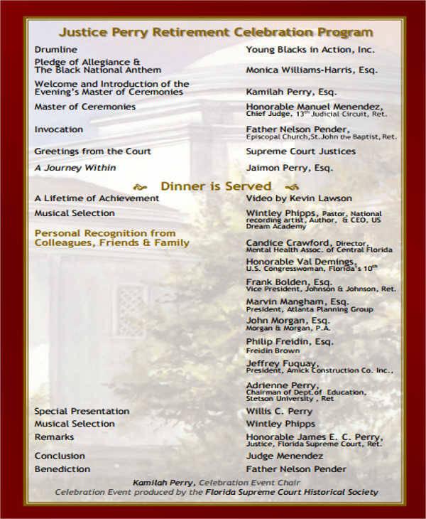 retirement event program2