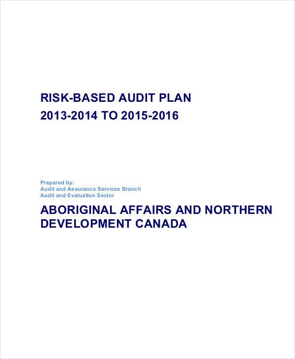 risk based audit plan1