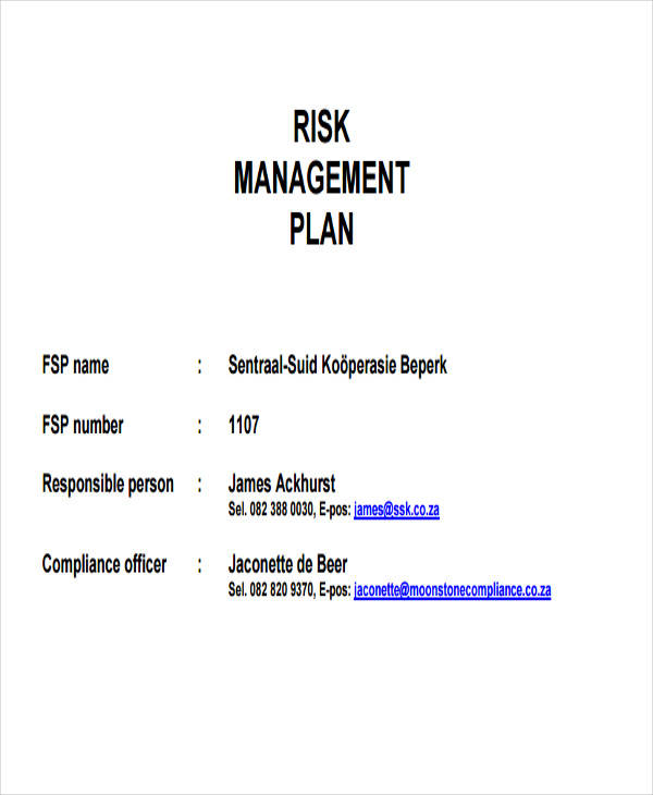risk management plan4