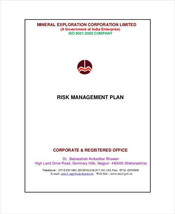 risk management plan6