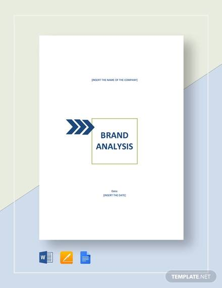 sample brand analysis