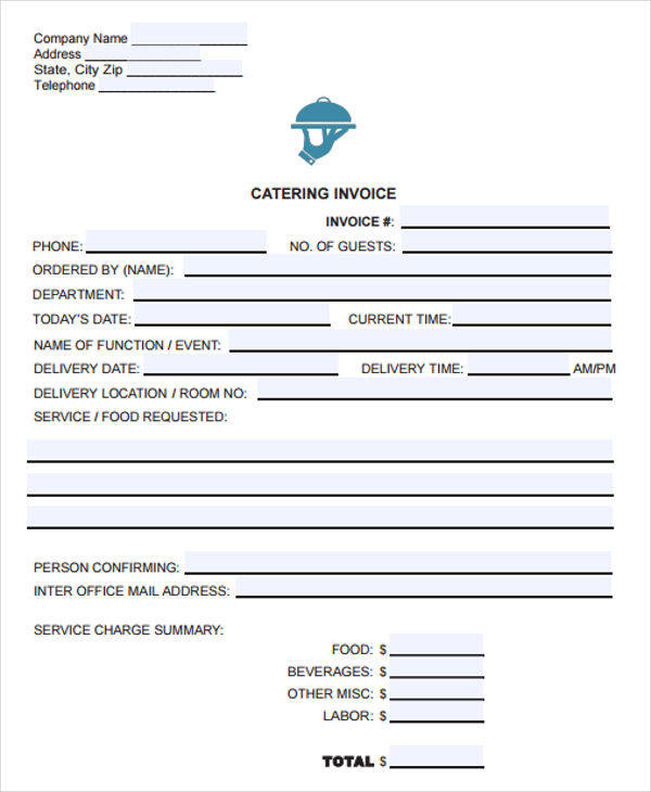 sample catering receipt3