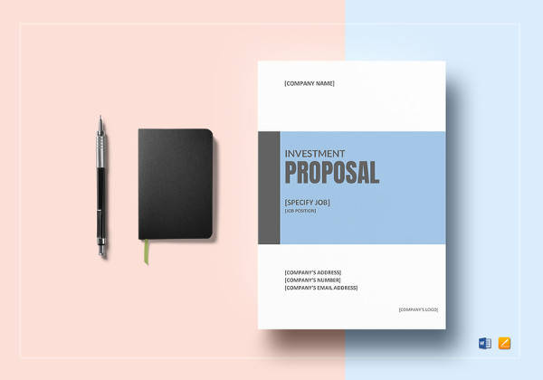 sample investment proposal word template