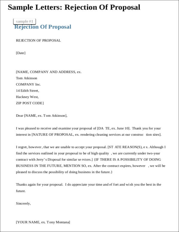 Things About Investor Rejection Letters You Need To Know