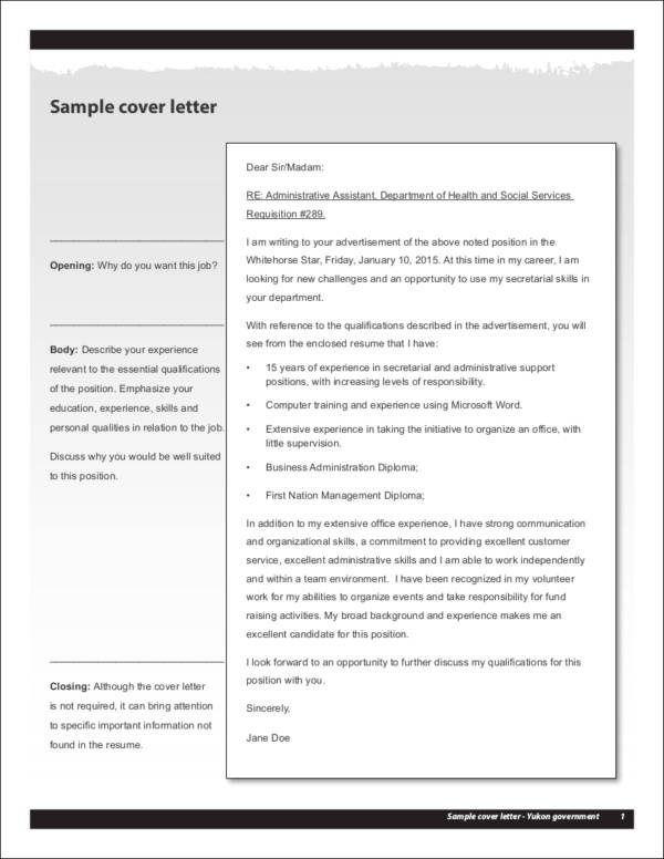 How Your Experience Level Impacts Your Cover Letter