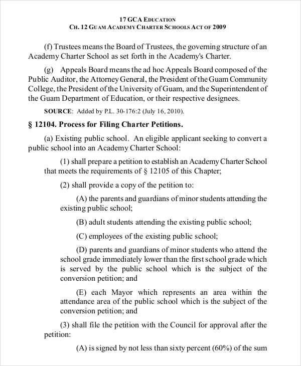 school academy petition2