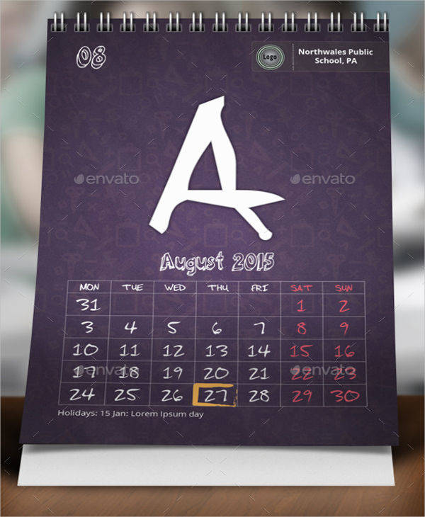 Free 17  School Calendar Templates In Ms Word