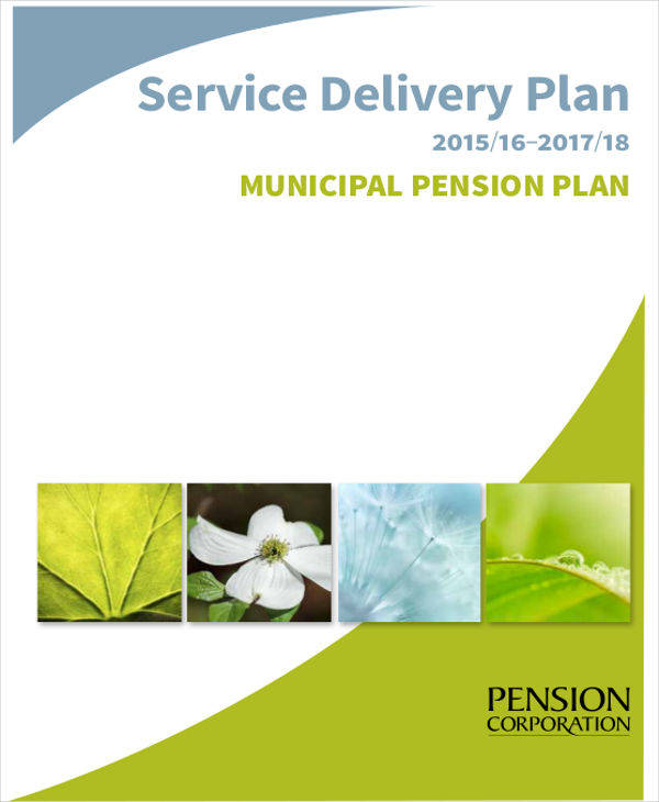 service delivery plan