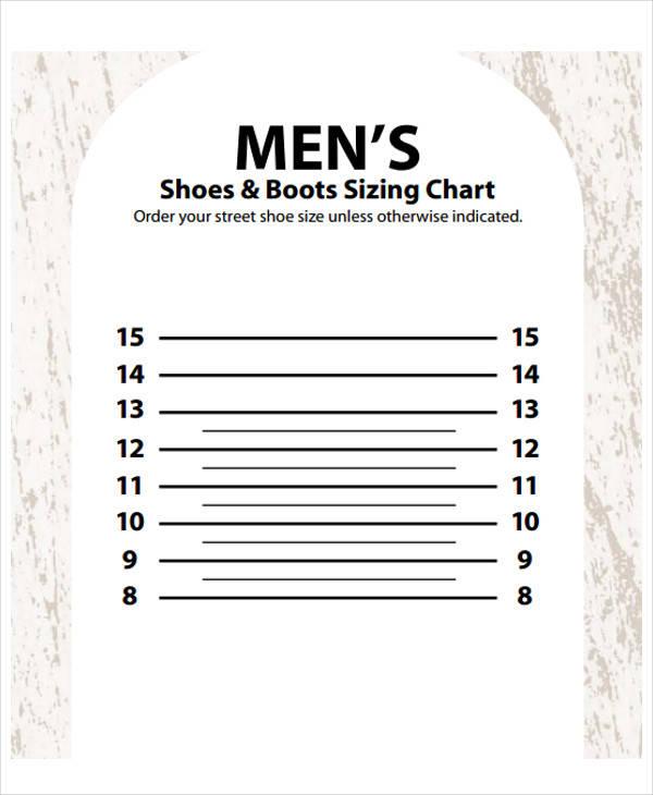 shoe size chart1