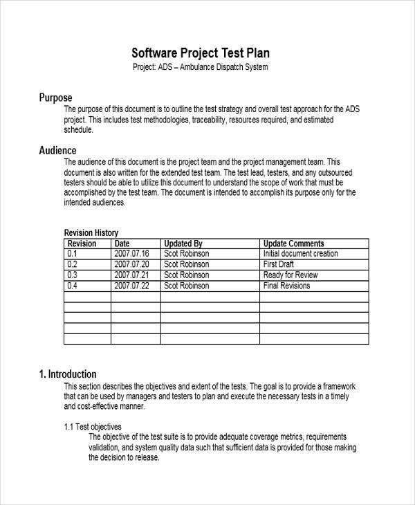 software project test