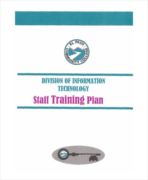 Training Plan  Examples In Word Pdf