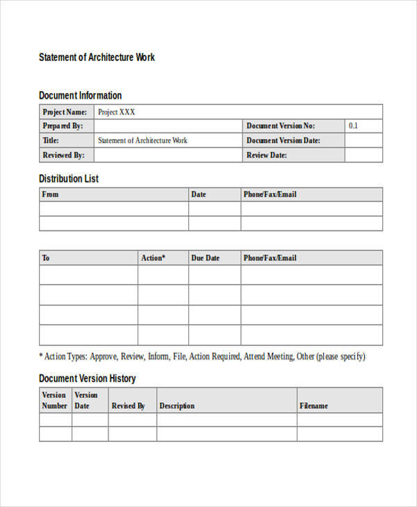 28  statement samples  u0026 templates in doc