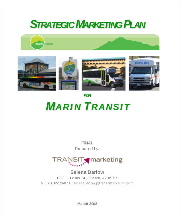 strategic marketing plan1