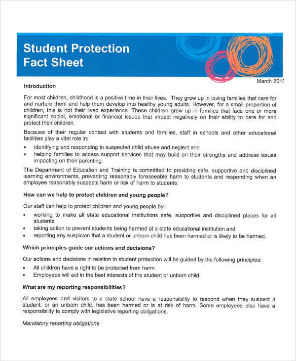 student protection