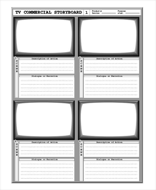 tv commercial storyboard1